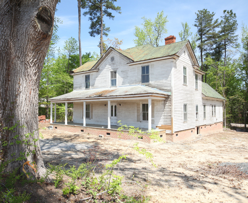 GEORGE UPCHURCH HOUSE FOR SALE | Capital Area Preservation |